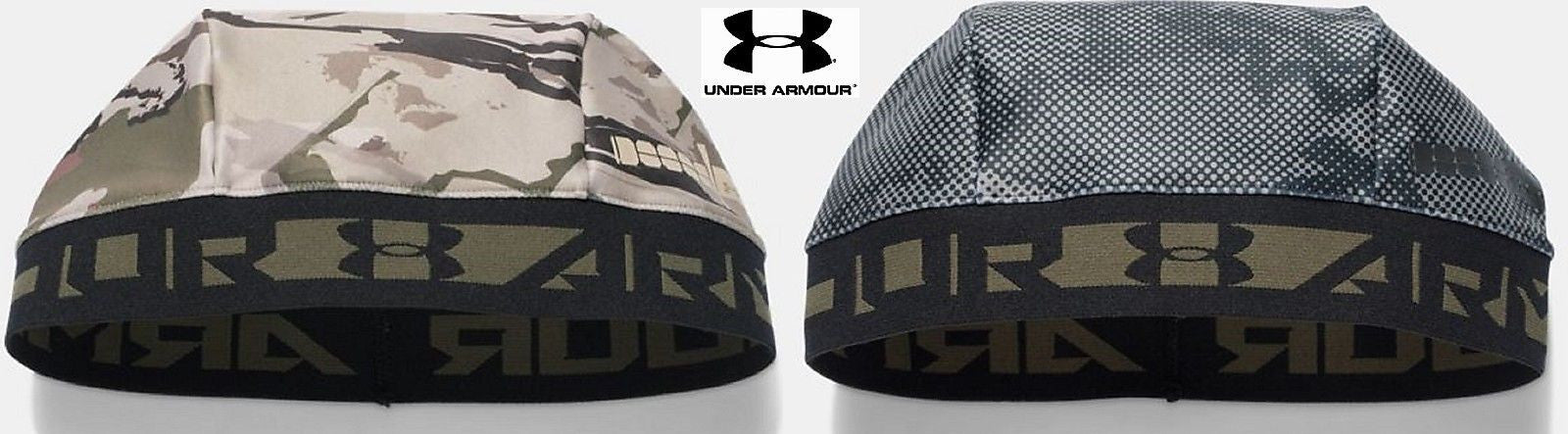 Under Armour CoolSwitch Camouflage Skull Cap Beanie - UA Helmet Liner  Skully Hat. acae12e4213