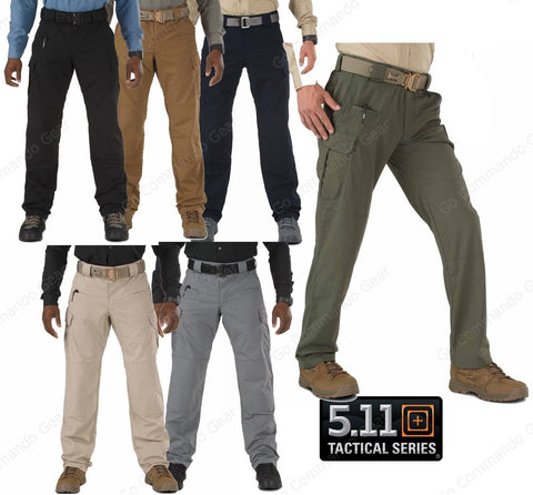5.11 Tactical Stryke Cargo Pants - Mens Flex-Tac Rip Stop Field Duty Work Pant
