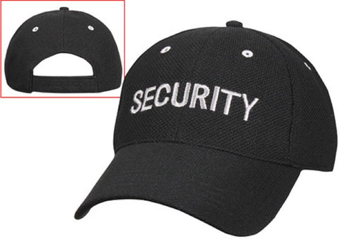 Rothco SECURITY Low Profile Mesh Cap w/ Hook and Loop Closure - Adjustable Fit