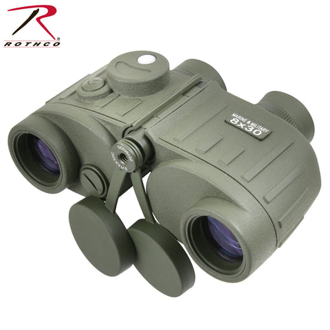 Rothco Military Style Olive Drab Tactical Binoculars 8 X 30 - Fog & Water Proof