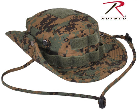 78282ab92ff Woodland Digital Camouflage Tactical Boonie Hat - Rothco Mens Outdoor Bush  Hats