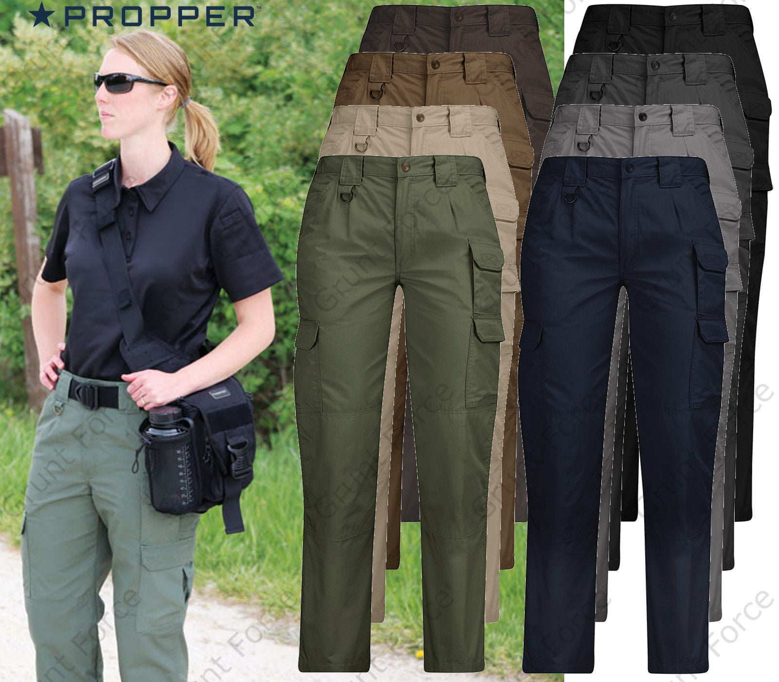 Propper Women s Tactical Pant - Lightweight Ripstop Pants – Grunt Force 5f8108f867c8
