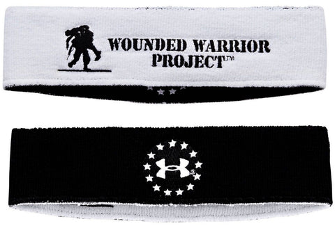 Under Armour WWP Sweatband - Reversible UA Wounded Warrior Project Head Band