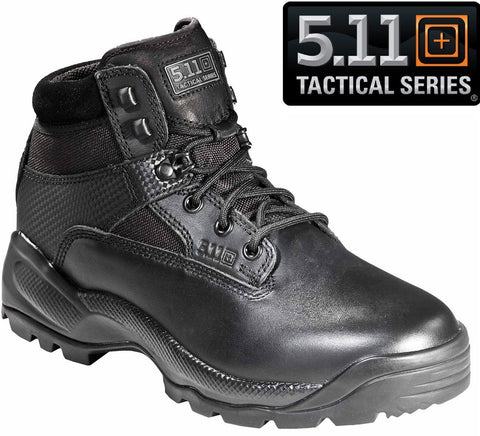 "5.11 Tactical Mens Black ATAC 6"" Military & Police Field Duty Work Boots"