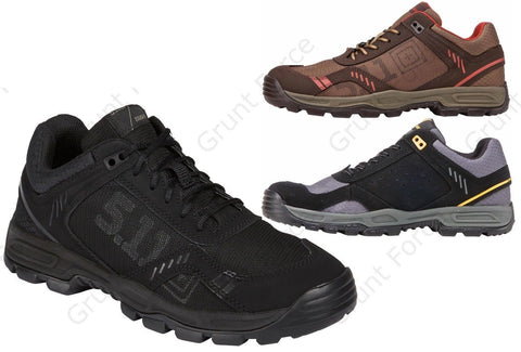 5.11 Versatile All Terrain Ranger Shoes - Mens Low Top OrthoLite® Tactical Boots
