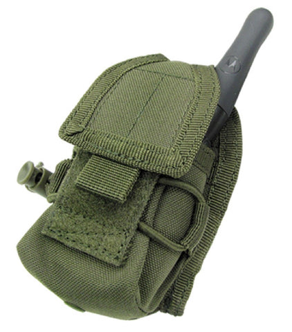 Condor Outdoor Olive Drab Green HHR Tactical MOLLE Handheld Cell / Radio Pouch