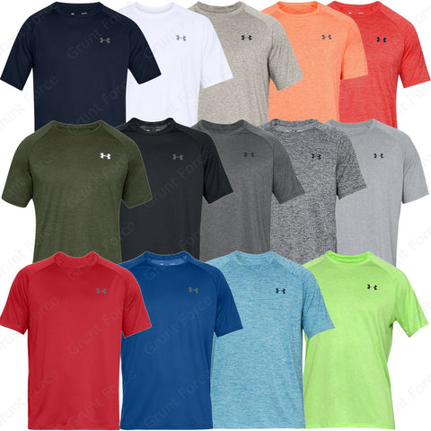 Under Armour Men's Short Sleeve T-Shirt - UA Tech 2.0 Athletic Shirts