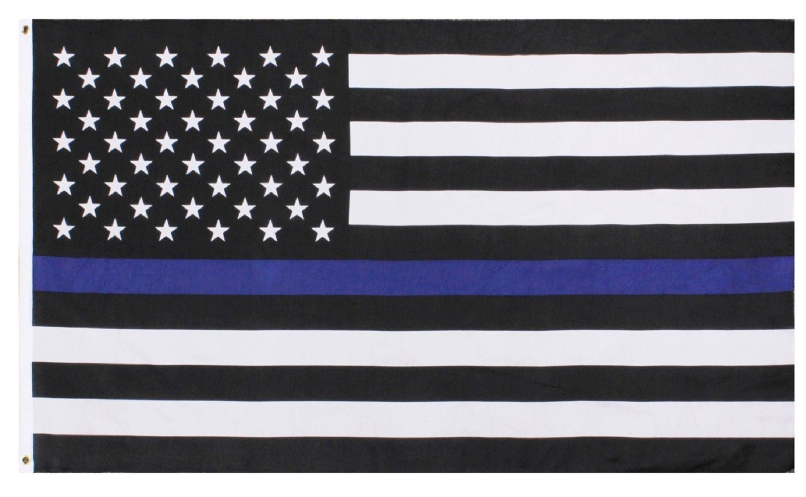 The Thin Blue Line Police Support Decorative USA Flag -Rothco 5 Foot Police  Flag 931f4a59fc7