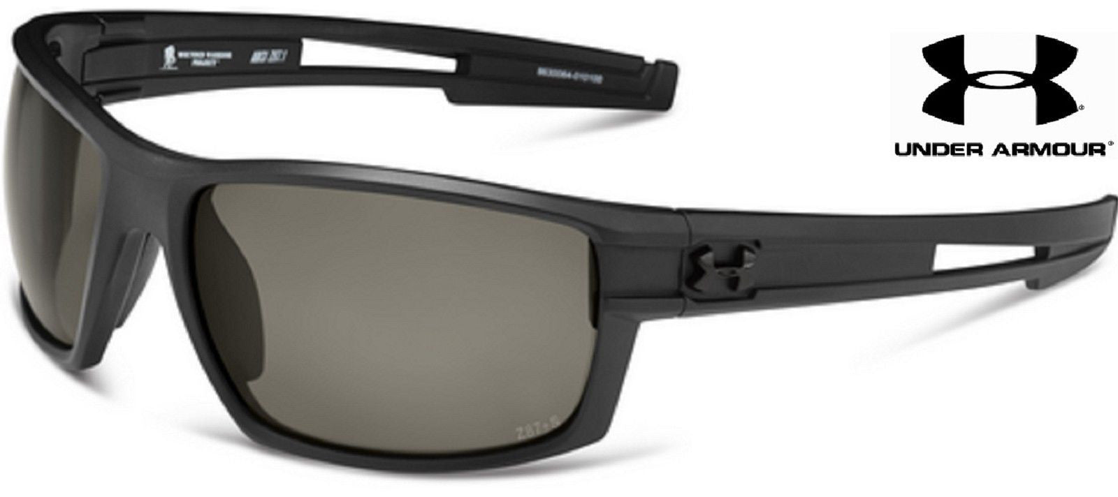 a37355643f Under Armour WWP Captain Sunglasses - Black UA Wounded Warrior Project  Shades