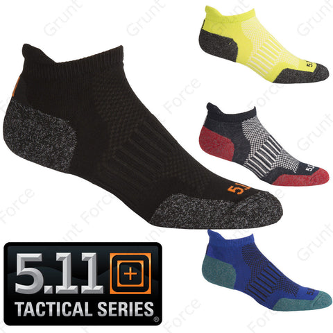 5.11 Tactical Ankle High ABR Training Sock - Moisture Wicking Athletic Socks