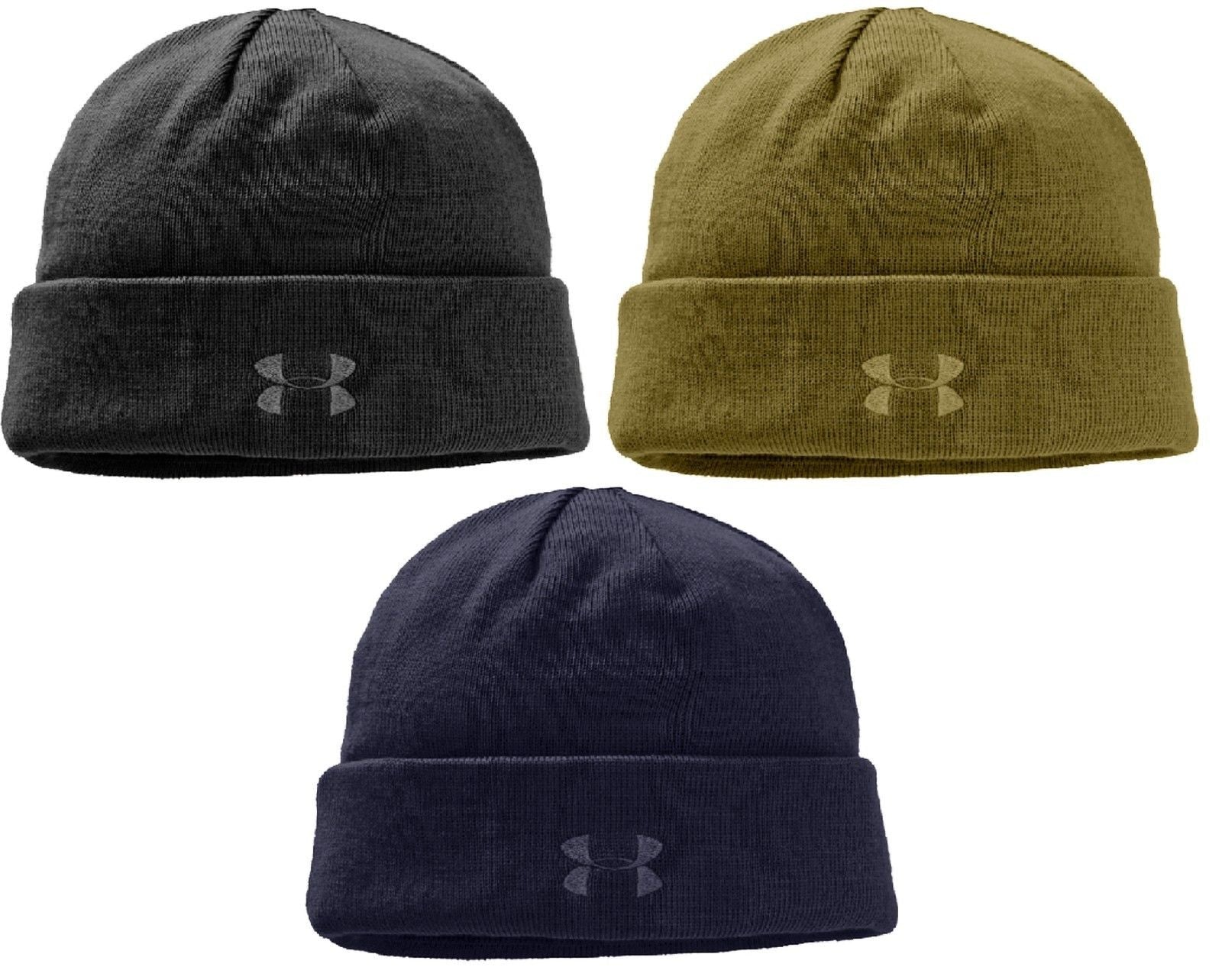 Under Armour Stealth Beanie Winter Hat - UA HeatGear Lined Cold Weather Ski  Hats. 70773cad9af