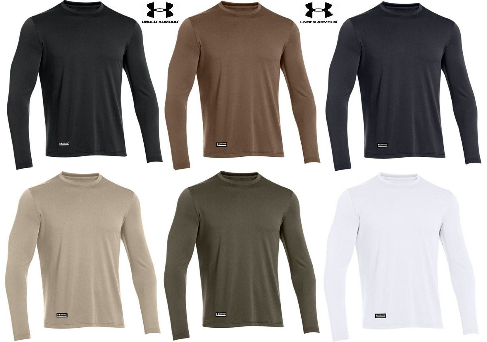 85a53f8ea896 Under Armour Mens Tactical Tech Long Sleeve T-Shirt - UA Loose Fit Tee Shirt  ...
