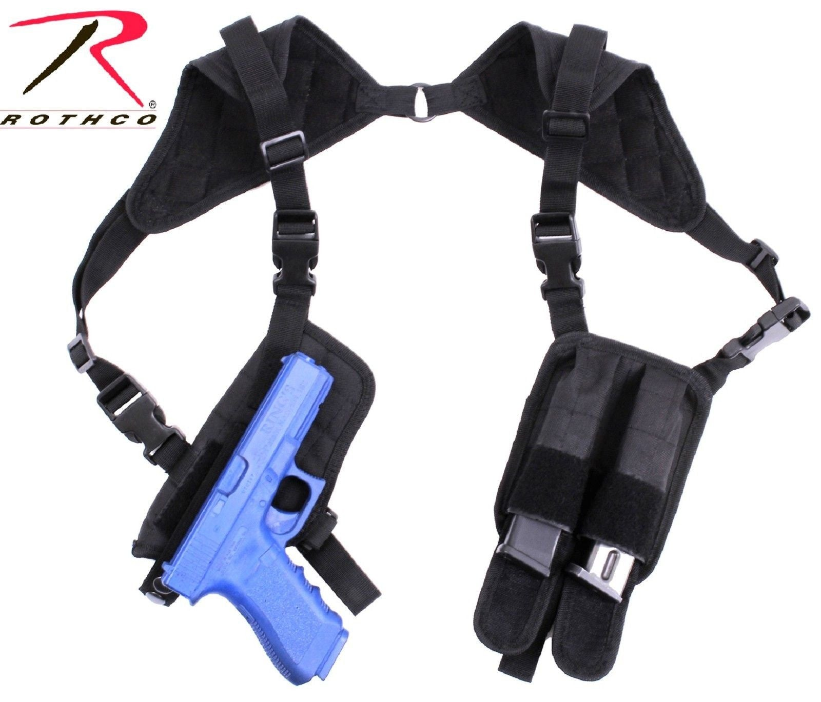 Ambidextrous Concealed Carry Shoulder Holster - Black Tactical Holsters