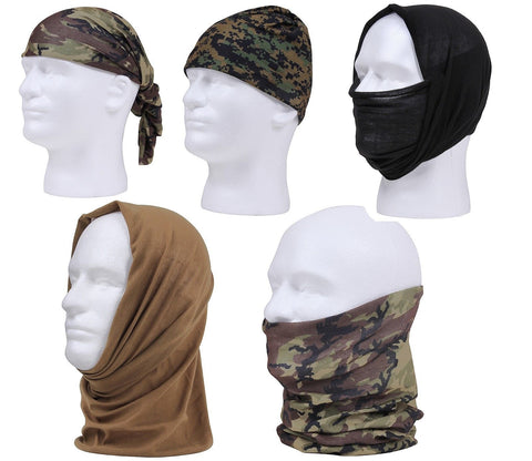 "Rothco 19"" Moisture Wicking Tactical Motley Tube - Multi Use Head Wrap"