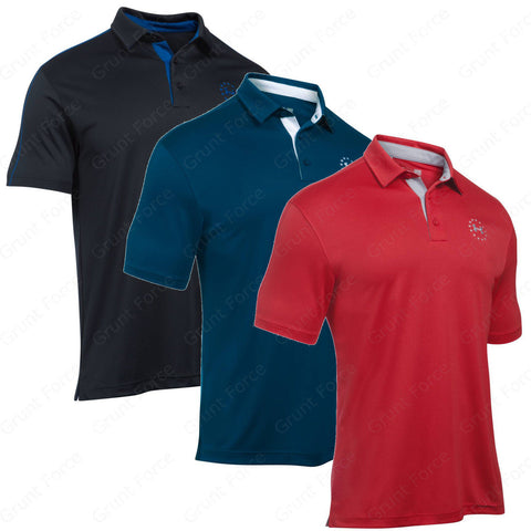 Under Armour Freedom Tech Polo - UA Men's Tactical Short Sleeve Polo Shirt