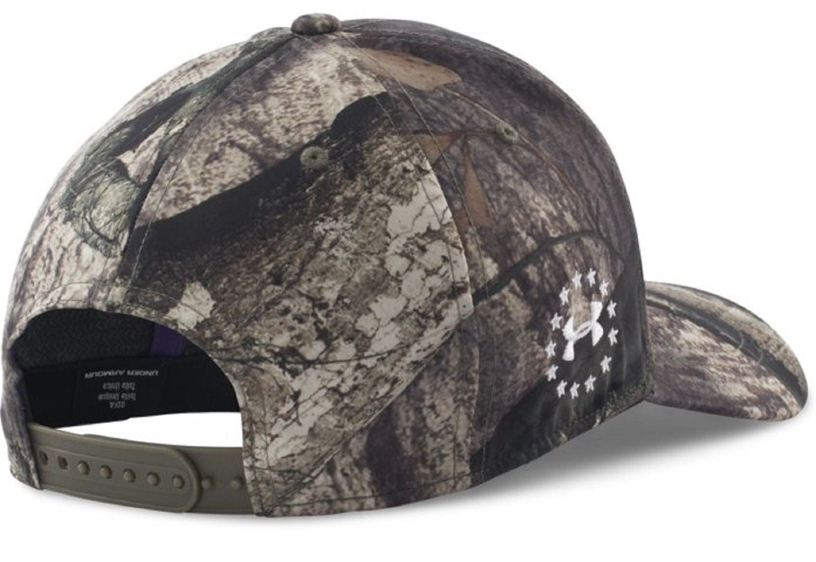 ... Under Armour Wounded Warrior Project Camo Snap Cap - Mens UA  Embroidered WWP Hat ... d019a25cc80