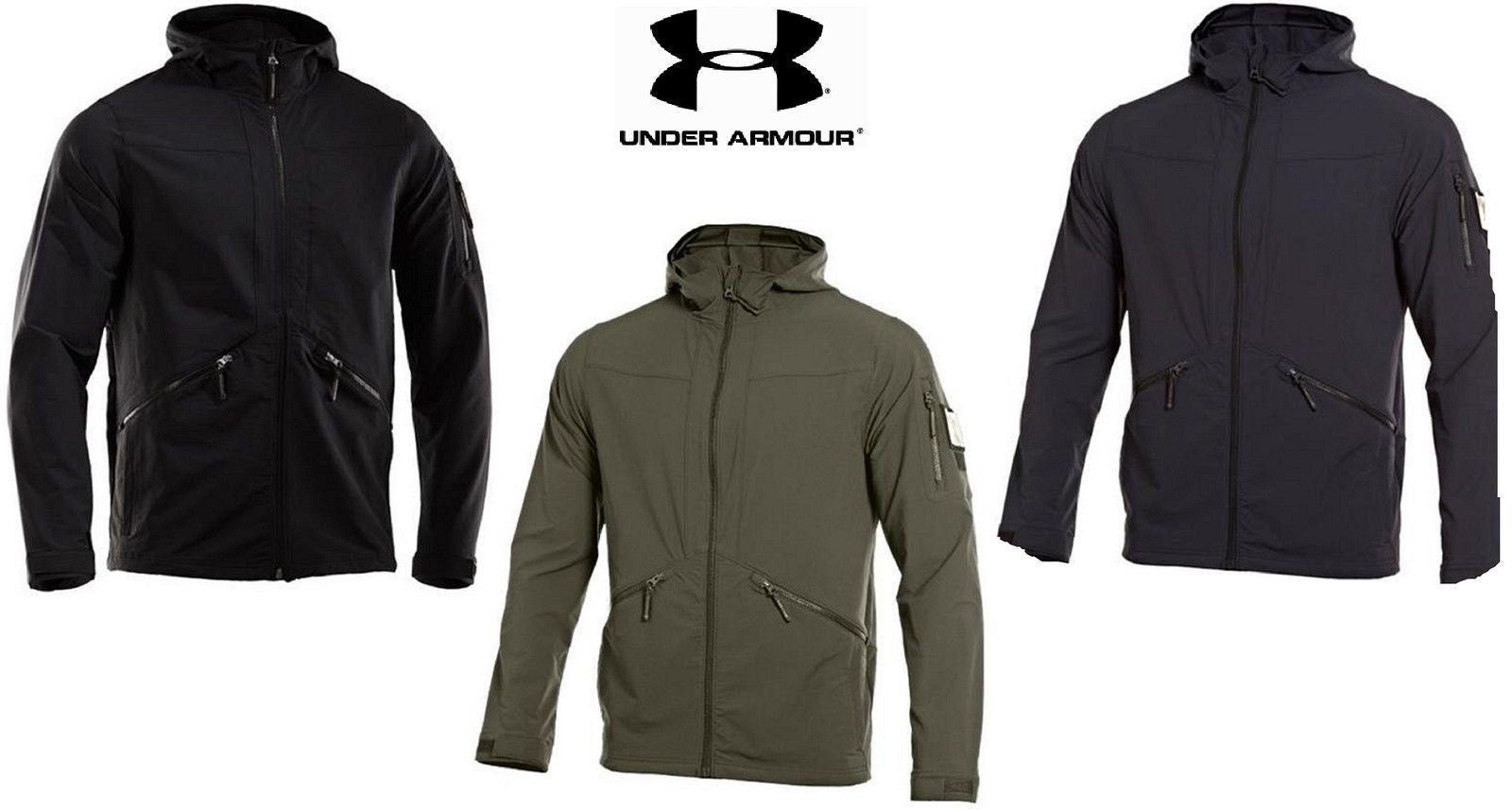 ee1702144 Under Armour Tactical Softshell Jacket 2.0 - Mens Lightweight Field ...