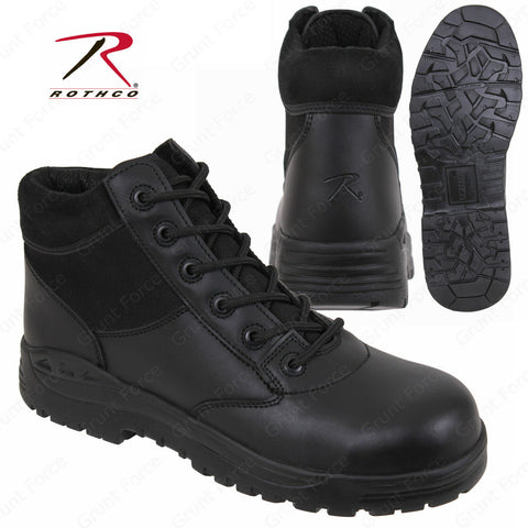 "Forced Entry 6"" Black Tactical Composite Boot - Work Boots"