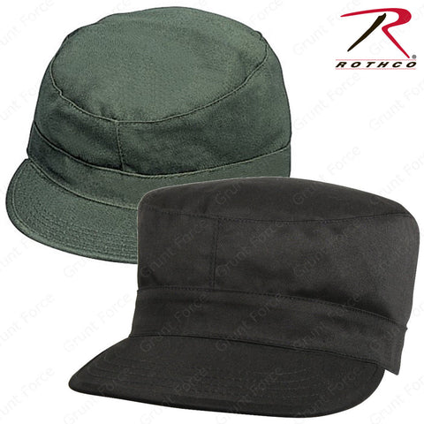 Rothco Olive Drab & Black Fatigue Caps - Military Style Hatwear