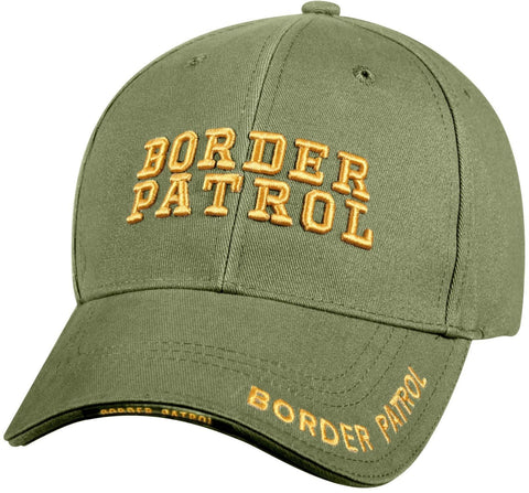 Border Patrol - Olive Drab - Deluxe Low Profile Baseball Cap