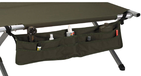 "Olive Drab Military Style Camp Cot Accessory Pouch Rothco 33"" Cot Frame Pouches"