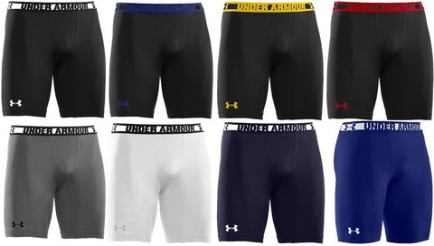Under Armour Mens HeatGear Sonic Compression Athletic Shorts - UA Skin Fit Short