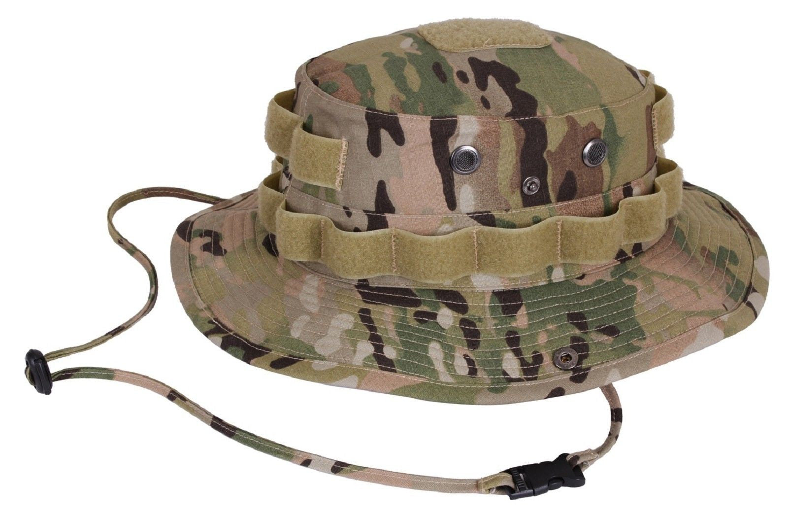 ... MultiCam Camouflage Tactical Operator Cotton Ripstop Boonie Hat Rothco  ... d7395f01768