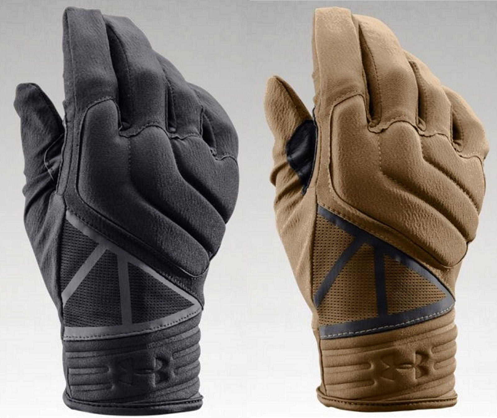 8c8977a29f7 Under Armour Padded Tactical Duty Gloves UA Synthetic Leather Touchscreen  Glove.