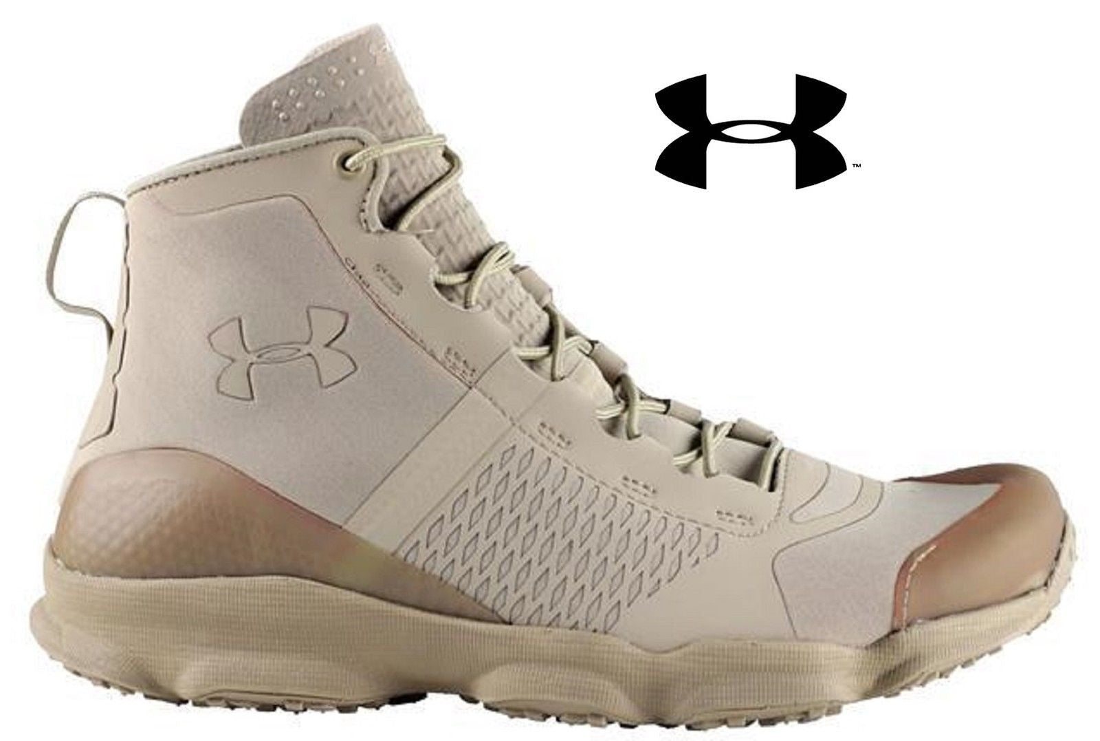 Under Armour Desert Sand SpeedFit Hike Boots - Mens 5.5