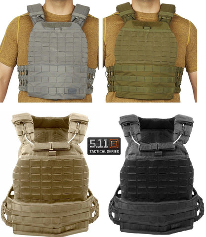 5.11 Tactical TacTec™ Plate Carrier Airflow Vest with GrabDrag Handle 56100