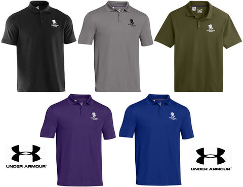 Under Armour Performance Polo Shirt Wounded Warrior Project Collared Golf Shirts