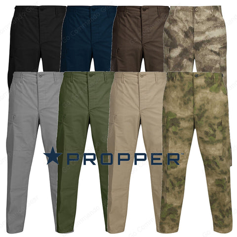 Propper BDU Pants - Battle Rip® 65% Poly 35% Cotton Ripstop Sewn to Mil Spec