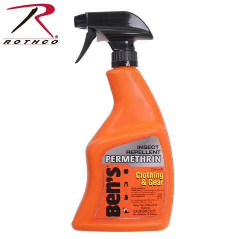 Ben's Clothing And Gear Insect Repellent w/ Permethrin - 24oz Bug Spary Bottle