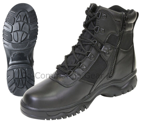 "Rothco Blood Pathogen 6"" Black Tactical Boot"
