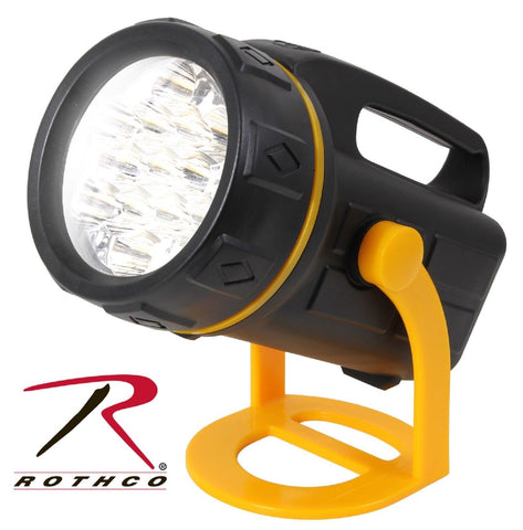 Rothco 13 LED Lantern With Stand - Water Resistant Rubberized Plastic, 52 Lumens