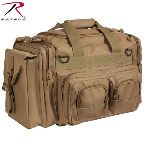 Rothco Concealed Carry Bag - Coyote Brown Heavyweight Polyester Gear Bag 2653