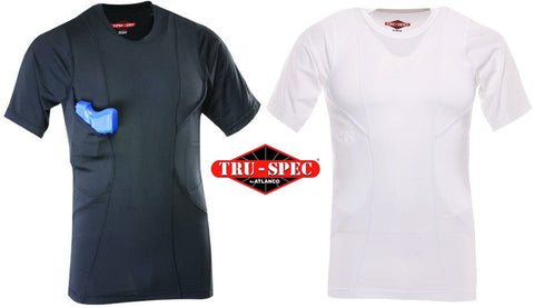 Tru-Spec Concealed Carry Holster Shirt - Men's 24-7 Series Tactical Undershirt