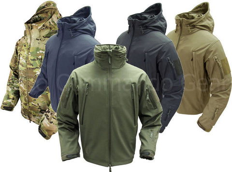 Men's Condor Summit Softshell Tactical Jacket - 3 Layer Reinforced Winter Coat
