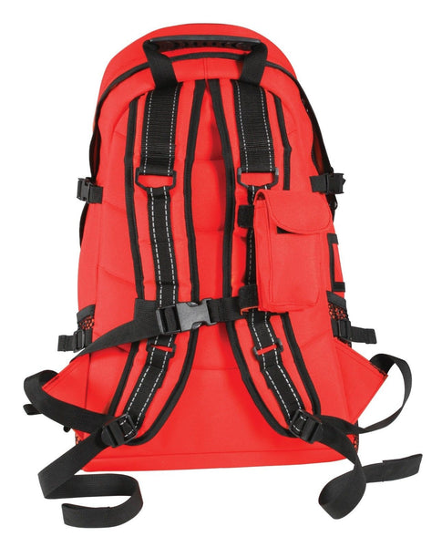 Ems Medic Trauma Backpack Gear Bag Red First Aid
