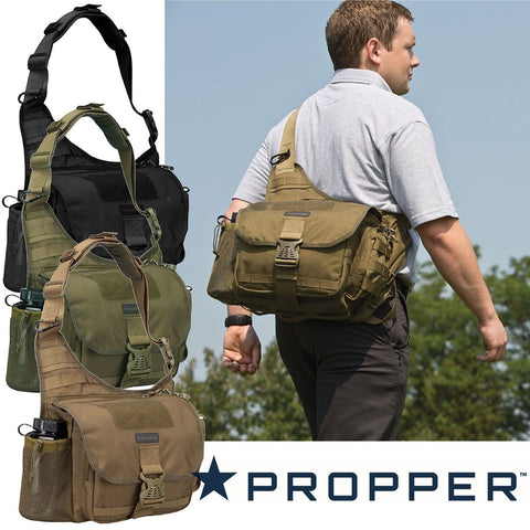 Propper OTS XL Messenger Bag - CCW Tactical Shoulder Military SWAT Bag