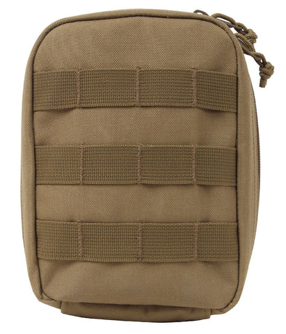 Coyote Brown MOLLE Tactical Trauma First Aid Kit Pouch Medic Compact Small Bag