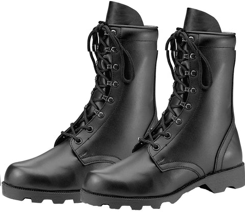 GI Style Speedlace Combat Boot - Black Military Boots