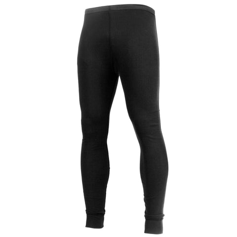 Men's Midweight Black Thermal Knit Bottom - Rothco Thermal Long Johns Underwear