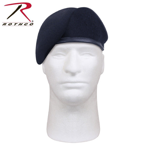 Rothco G.I. Type Inspection Ready Beret - Midnight Navy Blue Military Beret