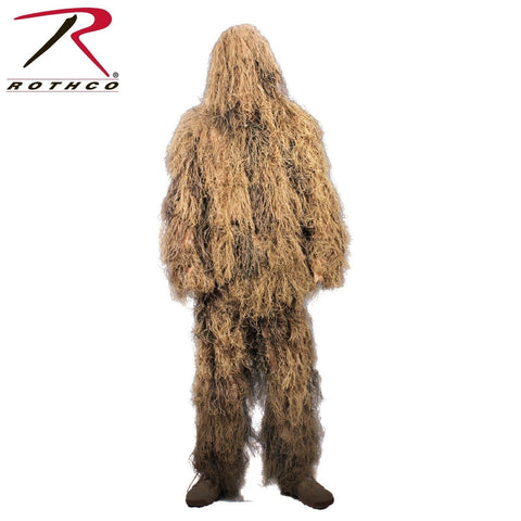 Rothco Lightweight All Purpose Desert Tan Ghillie Suit - Hunting Gear
