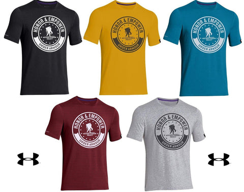 Under Armour Wounded Warrior Project Circle T-Shirt - Mens WWP Graphic Tee Shirt