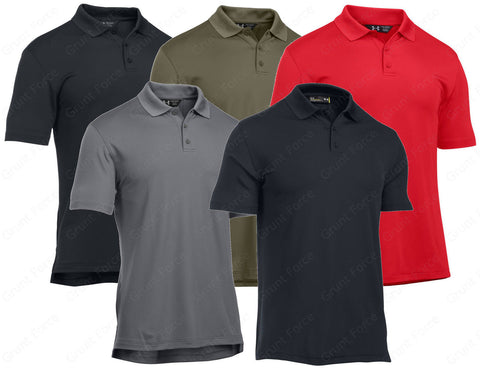 UA Tactical Performance Polo - Under Armour Men's Short Sleeve Tactical Polo