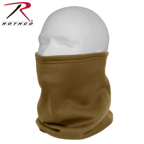 Rothco ECWCS Polyester Neck Gaiters - AR 670-1 Coyote Brown Half Face/Neck Mask