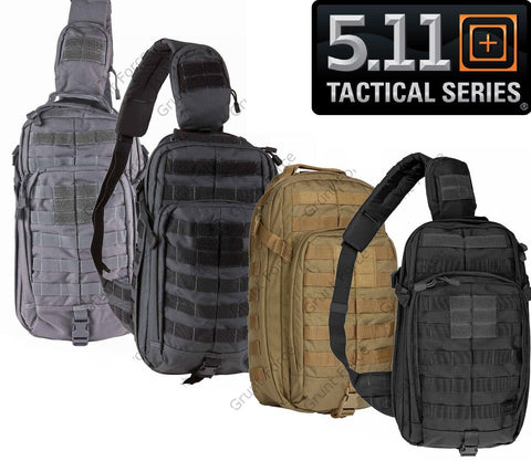 5.11 Tactical Rush MOAB™ 10 Mobile Operations Sling Backpack Padded MOLLE Bag