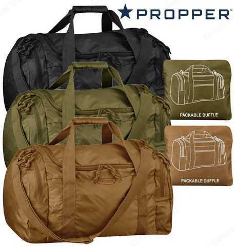 Propper Packable Duffle Bag - Packs Into Its Own Pocket